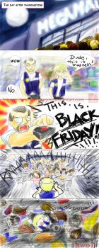 THIS IS BLACK FRIDAY by slifertheskydragon