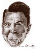 Vote for Reagan by claycox