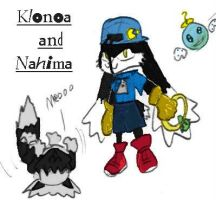 Klonoa and Nahima by Nahima