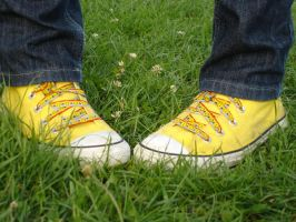 My shoes on FRENCH GRASS by Aliwoo