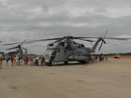 MCAS Airshow 2015 Pics- CH-53 Super Stallion by DRYeisleyCreations