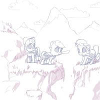 Mountains and Crusaders by TheReturnofMuabo