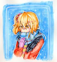 It's cold here... by Kairi-rin