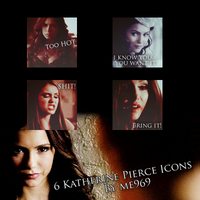 Katherine Pierce Icon Pack by me969