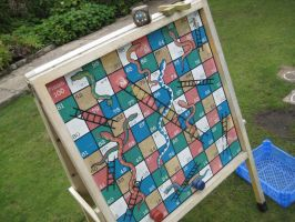 Snakes + Ladders by SlidingWingz
