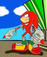 Knuckles the Echidna Boom!! by TheOneTrueSirCharles