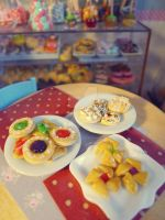 Danish pastries 1/6 scale by LittlestSweetShop