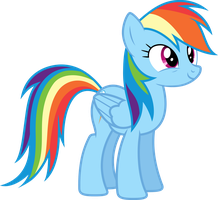Vector #49 - Rainbow Dash #9 by DashieSparkle