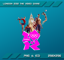 London 2012 The Video Game Dock Icon by Dohc-WP