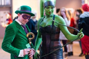Riddler and Oola by MatsErofdisguise