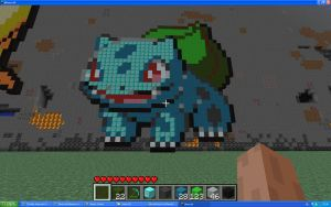 Bulbasaur On Minecraft by Miccopicco