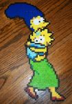 Marge and Maggie Simpson by EternalBarrel