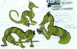 Zenfen Sheet and Info by zookydragon