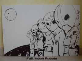 FullMoon-Robots_by HerbieCans by HerbieCans