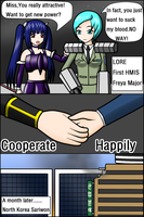 H and D ---- 4 by redcomic