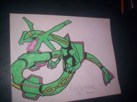 Rayquaza by SpiderPrime22