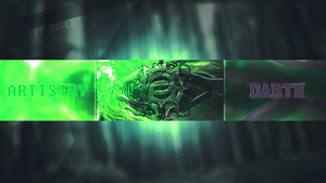 Darth Artistry YouTube Banner - By Savze by SaperSpoas