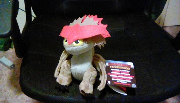 2017 Dragons Race to the Edge Cloudjumper Plush by PokeLoveroftheWorld