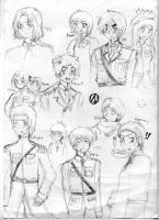 APH Sketches-Descanso tablet- by TenienteSumimi