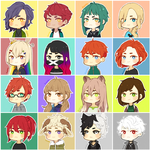Chibi Icon Collage by RuoMi