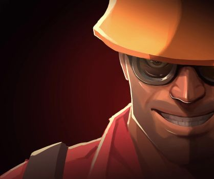 tf2 Engineer by biggreenpepper