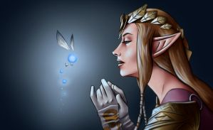 Zelda Portrait by Wraeclast