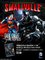 Batman is coming to Smallville - Preview Poster by FastMike
