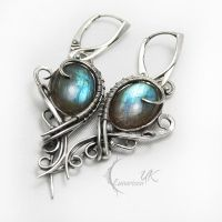 ARNTURVILH - silver and labradorite by LUNARIEEN