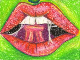 Lips by sitres