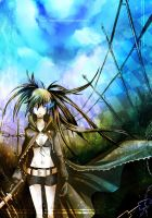 Black Rock Shooter 02 by Escria