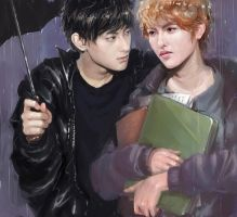 Rain by Vitcer