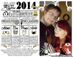 Holiday Infographic 2014 by meiken