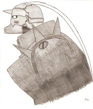 Alphonse Elric by the-silver-lily