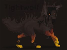 Neopets - Tightwolf by korked