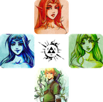 Legend of Zelda Collage by NeonSalamander