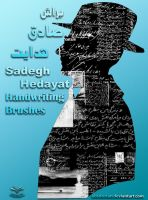 The sadegh hedayat Brushes by absdostan