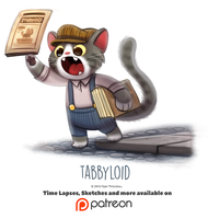 Day 1421. Tabbyloid by Cryptid-Creations