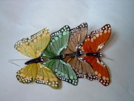 butterflies by group-stock