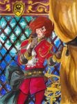Captain Harlock - The Knight - Vote for me by LyrykenLied
