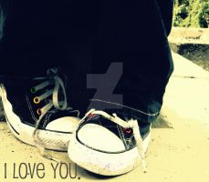 Converse- I love you by RainbowCartilage