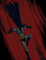 Batman TAS by Skandranon01