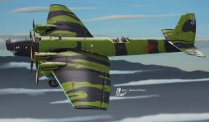 Tupolev TB-3 by araeld