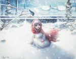 Single under the snow by BriGht-liGht-NSH