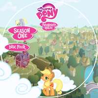 Friendship is Magic S1 Disc 4 DVD Label by Loaded--Dice
