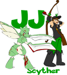 JJ and Scyther - Happy Birthday JJ by AceofAbra