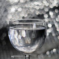 glass of bokeh by akthuro