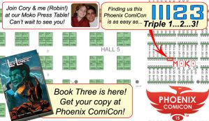 Phoenix ComiCon this weekend! by RobinRone