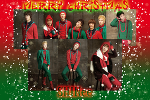 Merry Christmas SHINee Wallpaper by chaixing