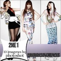 Photopack 94: 2NE1 by PerfectPhotopacksHQ