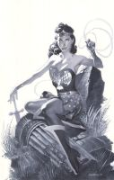 Golden Age Wonder Woman by ChristopherStevens